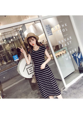 Cute Side lace up Maxi Dress - KP002520