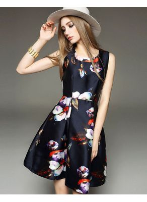 Cute Floral Party Dress