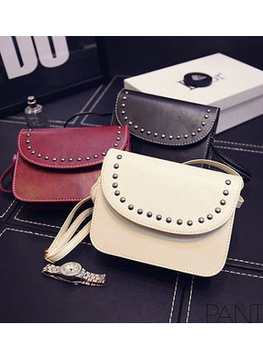 Cute Studded Slink Bag in 8 colors - KP001564