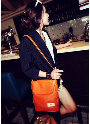 Cute Bucket Bag -Orange- KP001574