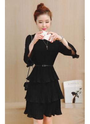 Cute Ruffle Dress - KP002250
