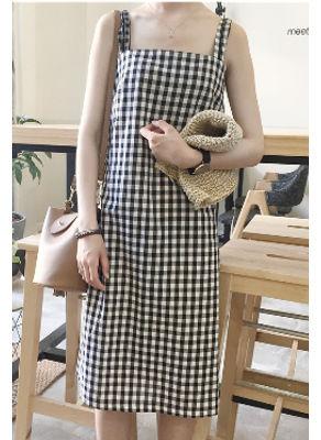 Back Button Design Dress - KP002334