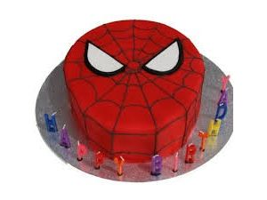 Super Hero Cake Flat (Like Spiderman)