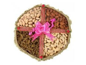 1 Kg Dry Fruits Pack