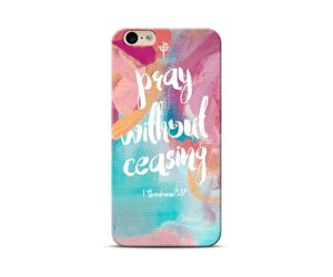 Pray Without Phone Case