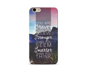 Believe Stronger Phone Case