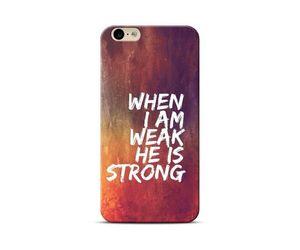 I Am Weak Phone Case