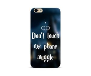 Don't Touch My Phone Muggle Phone Case