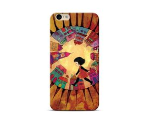 World At Her Feet Phone Case