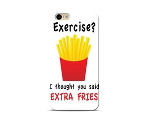 Fries before Exercise Phone Case