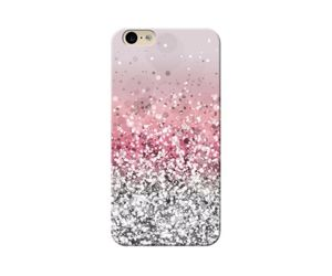 Pink Silver Phone Case