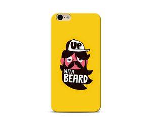 Born With Beard Phone Case