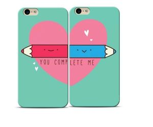 You Complete Me Couple Phone Case