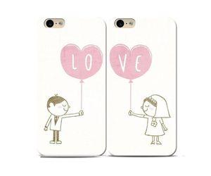 Love Balloons Couple Phone Case