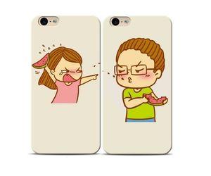 Fighting couple Phone Case