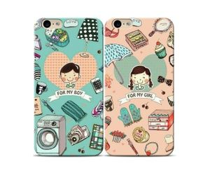 Boy And Girl Couple Phone Case