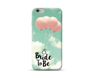Bride To Be-Ring and balloon Phone Case