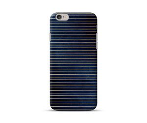Yellow Purple Stripes Phone Case