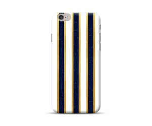 Yellow-Black Stripes  Phone Case