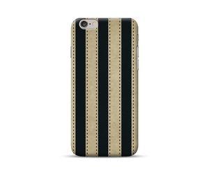 Vintage Vertical Black Stripes Phone Case