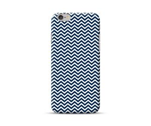 White Chevron Phone Case
