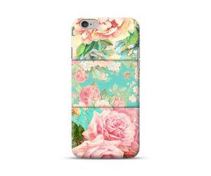 Blue Pink Floral Phone Case