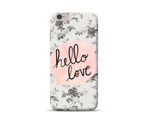 Hello love Phone Case