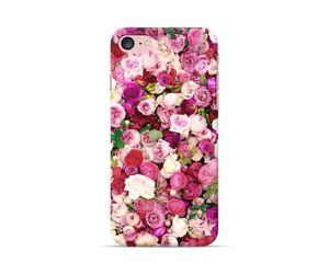 White purple floral Phone Case