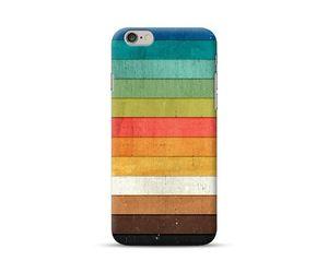 Multicolour Wooden Stripes Phone Case