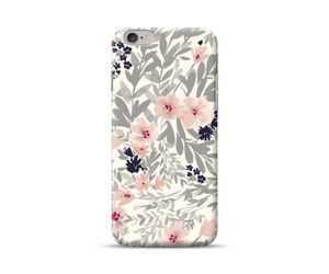 Grey and Pink Floral Phone Case