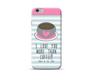More Than Coffee Phone Case