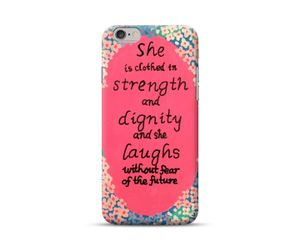 Girl's Strength and Dignity Phone Case