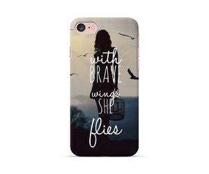 She Flies Phone Case