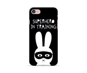 Superbunny In Training Phone Case