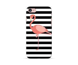 Flamingo Stripes Phone Case