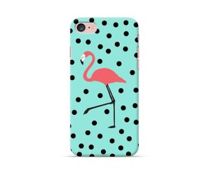 Flamingo Polka-Mint Phone Case