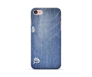 Tattered Denim Phone Case