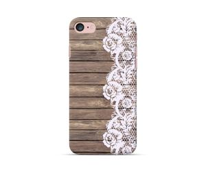 Wooden Lace Phone Case