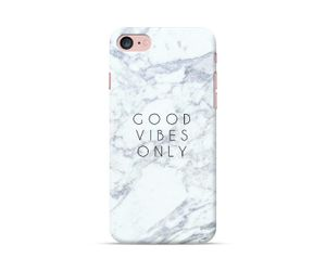 Good Vibes Only Marble Phone Case
