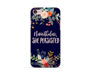 She Persisted Noir Phone Case