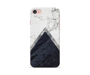 Marble Triangle Phone Case