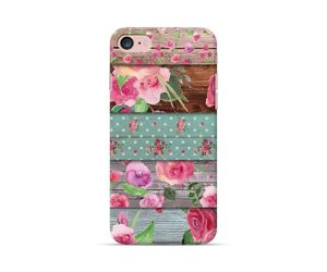 Roses On Wood Phone Case