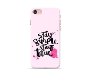 Stay simple stay true Phone Case
