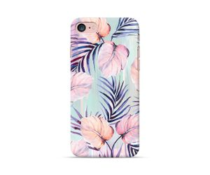 Pink Mint Leaves Phone Case