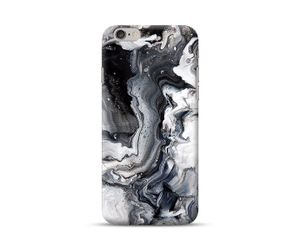 Black and White Granite Marble  Phone Case