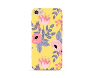 Yellow Floral Pattern Phone Case