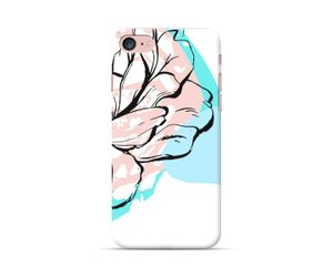 Unusual Bloom Collection - Teal rose phone case