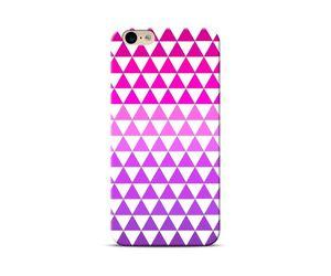 Pink & Purple Triangles Case