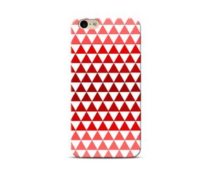 Red Triangles Phone Case