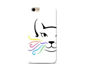 Colourful Whiskers Phone Case